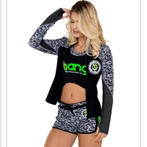 Bang Camo workout jacket.